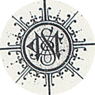 Sanborn Maps logo on compass rose